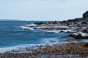 Andere Küstenansicht.