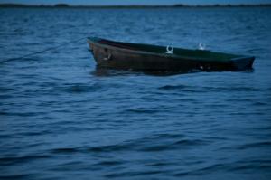 Boot im Wasser.