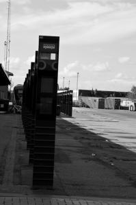 Bahnhof und Busbahnhof.