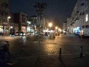 Schanze bei Nacht
