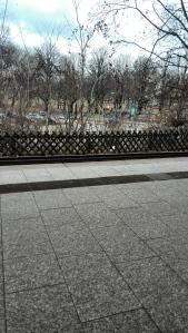 3. Dammtor: warten auf die S-Bahn