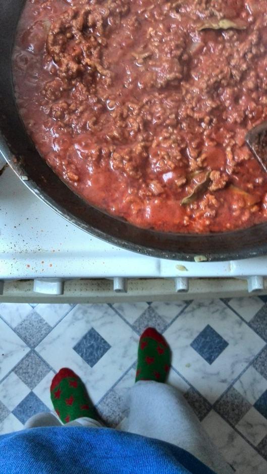 Ich koche Lasagne! Ich habe noch nie Lasagne gekocht!