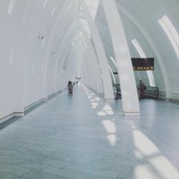 Flughafen in Kopenhagen